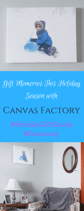 Gift Memories This Holiday Season with Canvas Factory