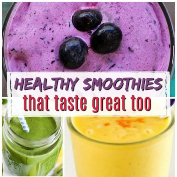 14 Delicious Healthy Smoothies