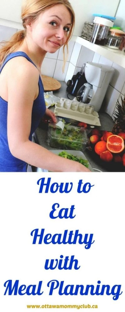 How to Eat Healthy with Meal Planning