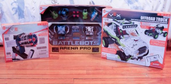 Assembling STEM Fun for Kids with HEXBUG