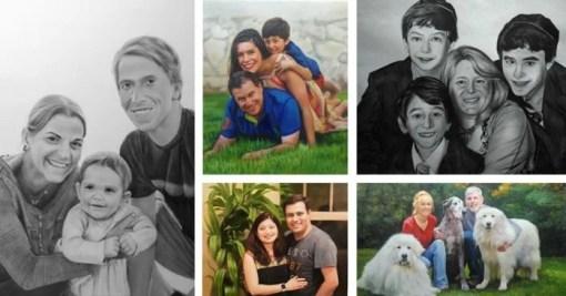Family Portraits to rejuvenate the Bland Walls