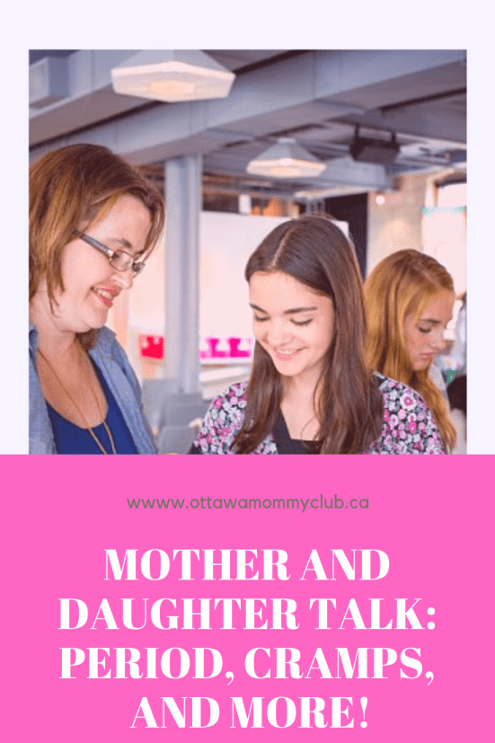 Mother and Daughter Talk: Period, Cramps, and More!