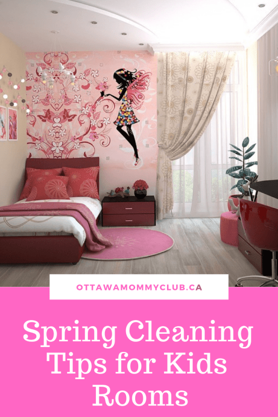 Spring Cleaning Tips for Kids Rooms