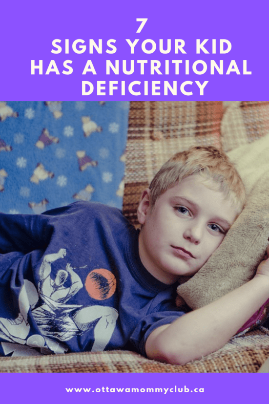 7 Signs Your Kid Has a Nutritional Deficiency