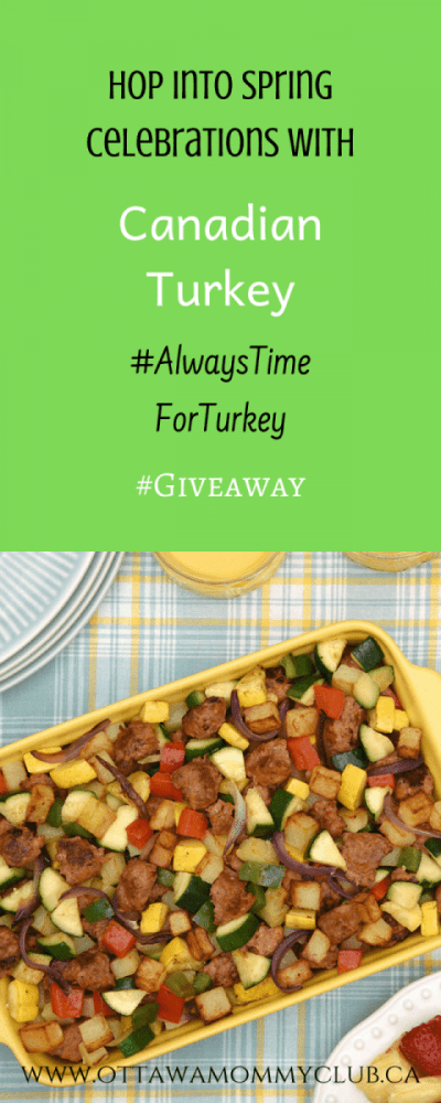 Hop into Spring Celebrations with Canadian Turkey