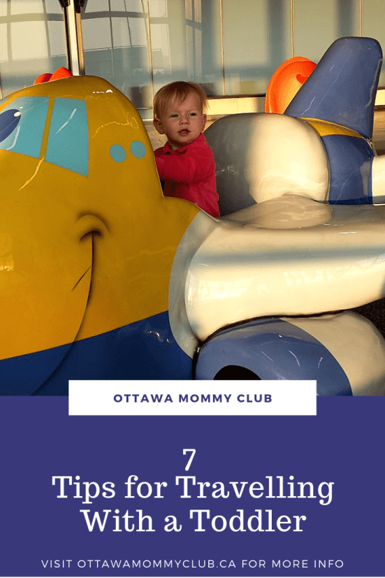 7 Tips for Travelling With a Toddler
