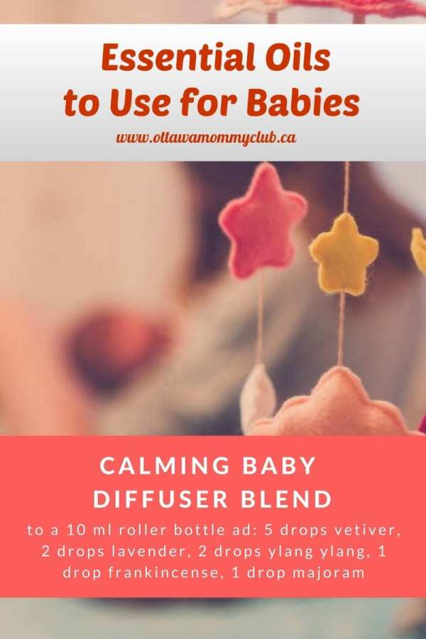 Essential Oils to Use for Babies