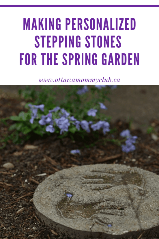 Making Personalized Stepping Stones for the Spring Garden