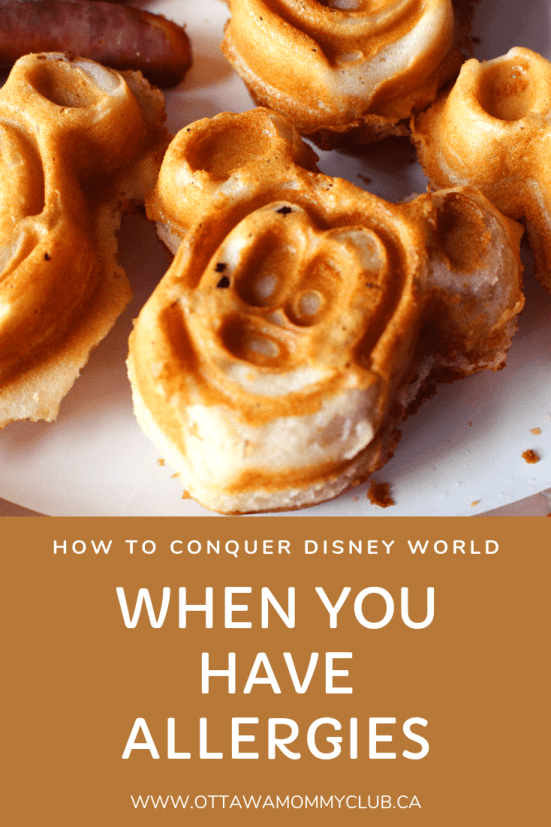 How to Conquer Disney World When You Have Allergies