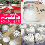 Homemade Essential Oil Gift Ideas
