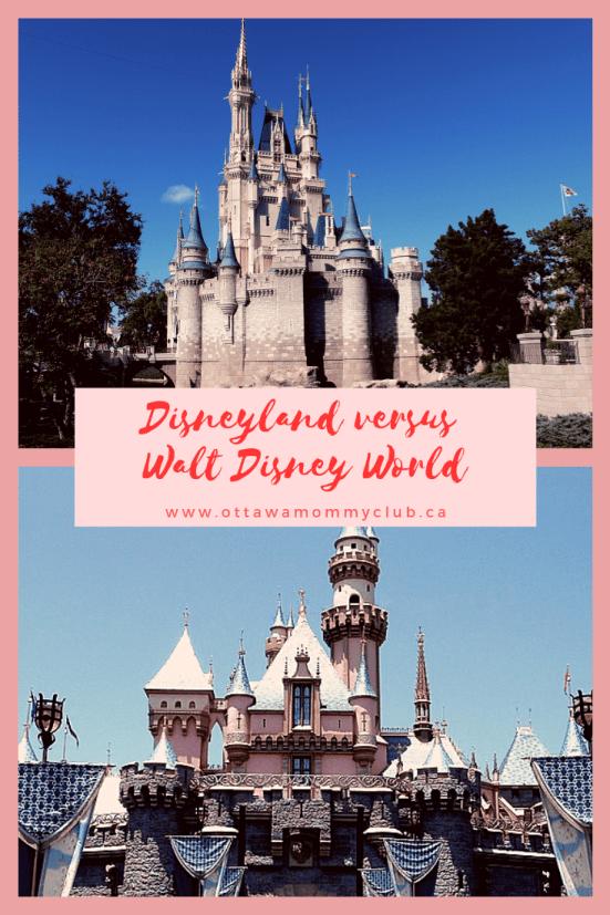 Disneyland Versus Walt Disney World