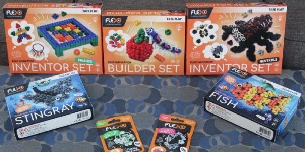 Build and Bend into Fun with Flexo #Review #Giveaway ~ CAN 09/06
