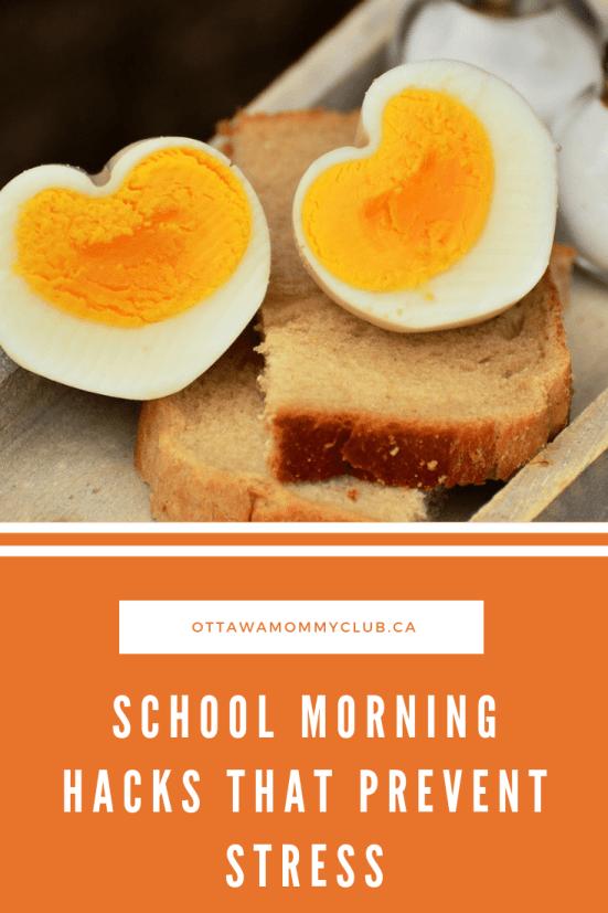School Morning Hacks That Prevent Stress
