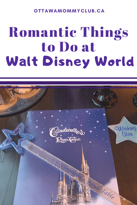 Romantic Things to Do at Walt Disney World