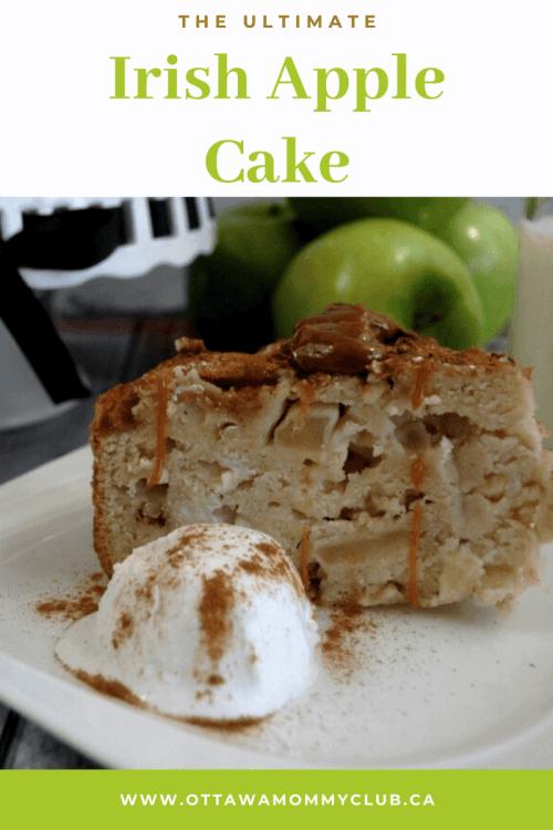The Ultimate Irish Apple Cake