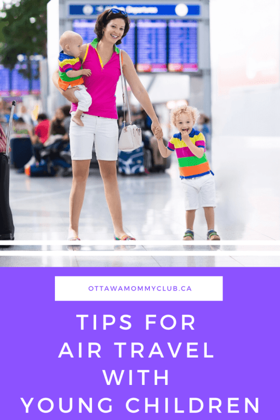 Tips For Air Travel With Young Children