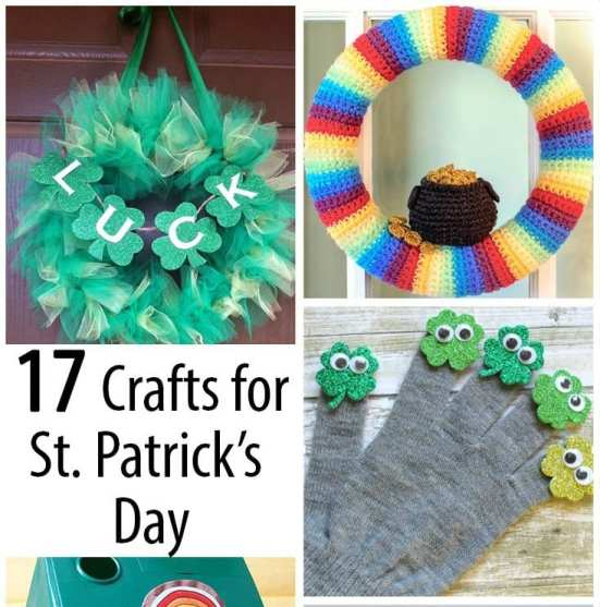20 Crafts for Saint Patrick's Day