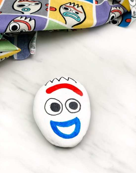 Forky Painted Rocks For Kids by Simple Everyday Mom.