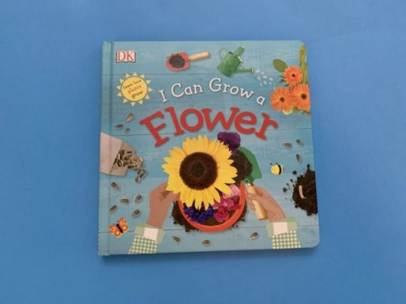 Cover I Can Grow a Flower book