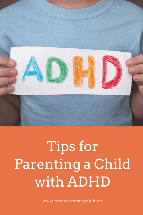 Tips for Parenting a Child with ADHD
