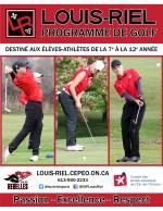 Golf page couverture