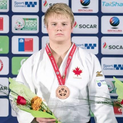 kendrick-Podium Bronze Medal