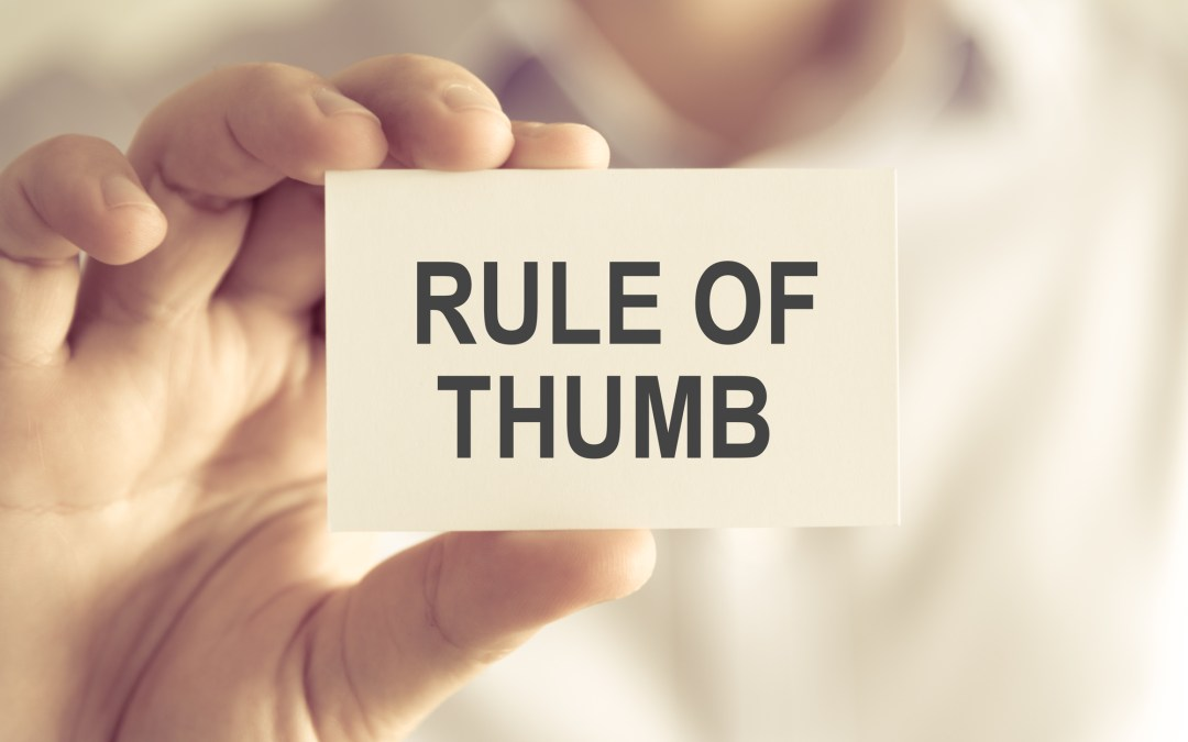 "What is a ""Rule of Thumb"" for Dental Practice Valuations?"