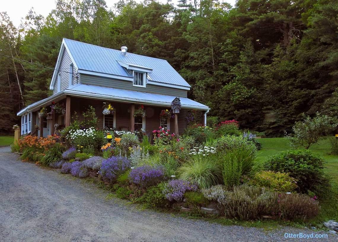 Muskoka perennial cottage garden