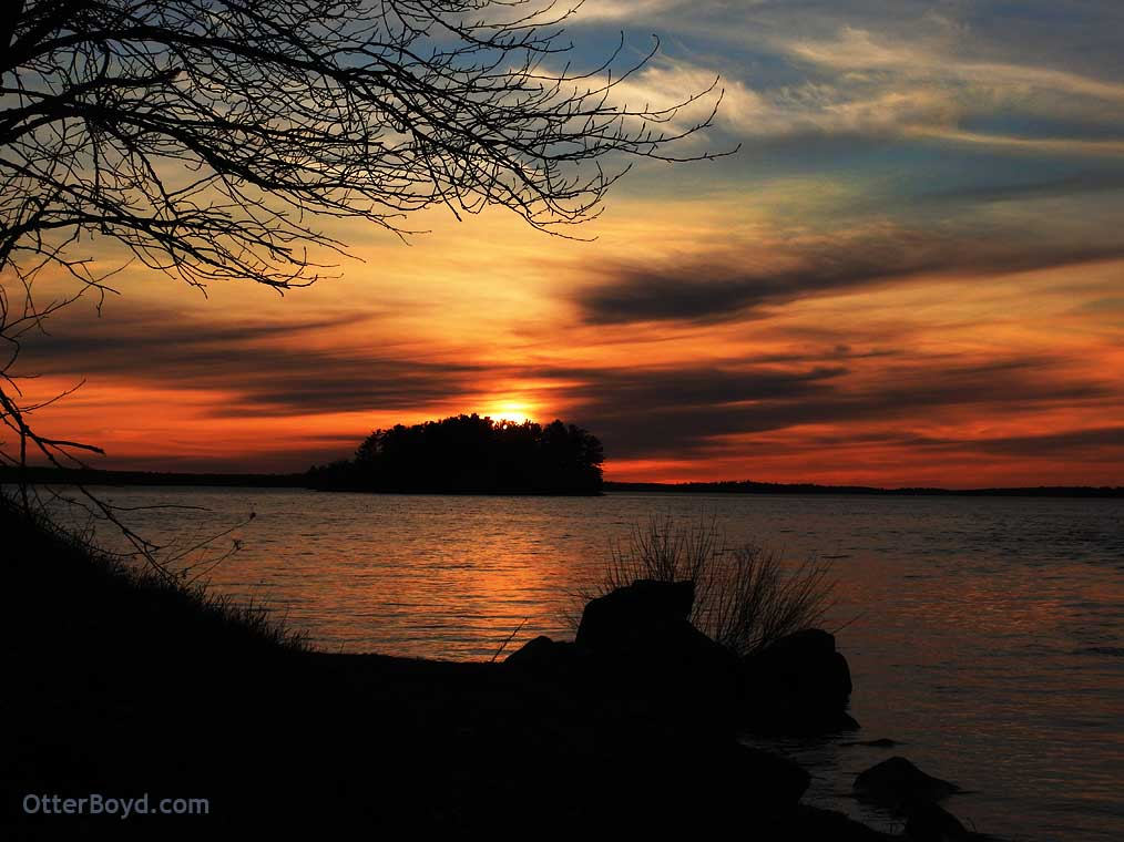 Sunset on Lake Muskoka