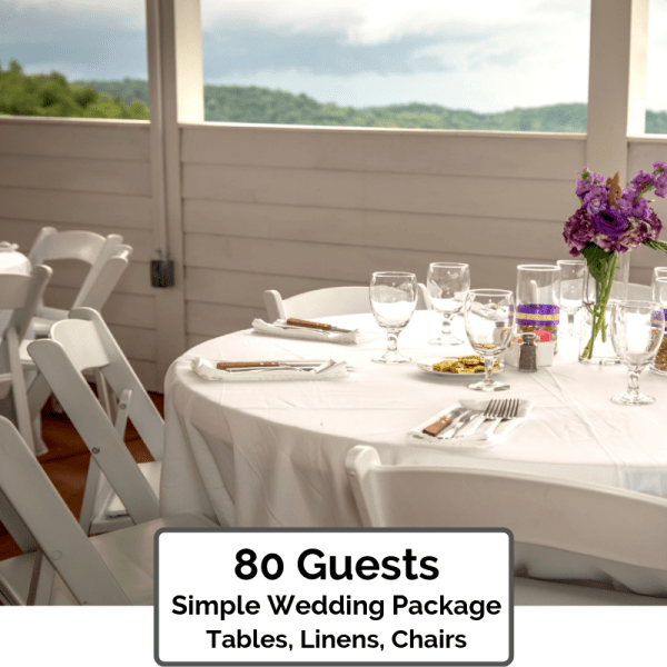 Simple Wedding Packages Orlando 80 Guests