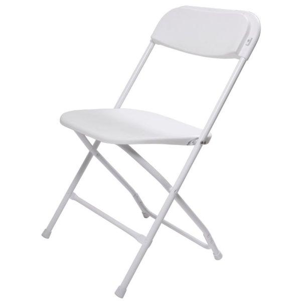 White Folding Chair