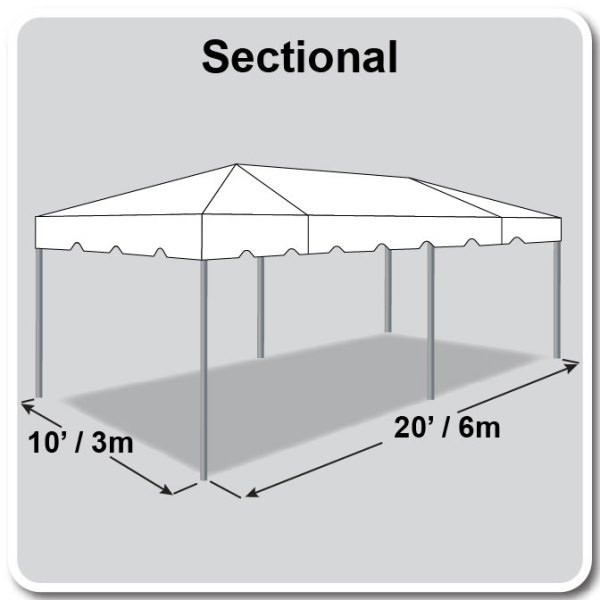 10x20 Tent Diagram