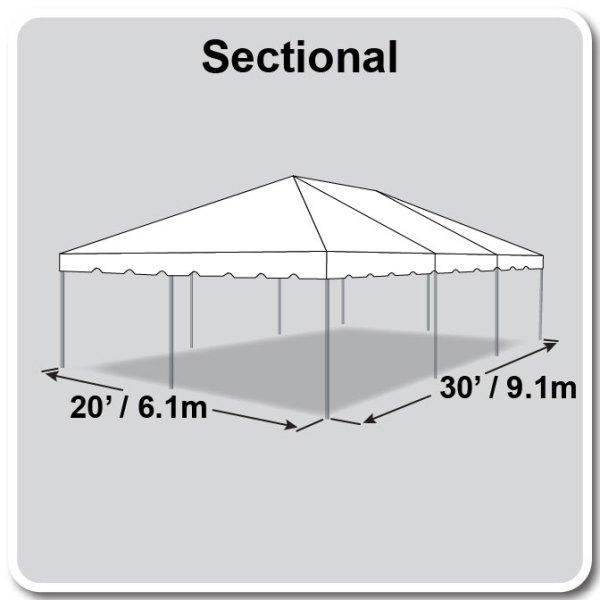 20x30 Tent Diagram