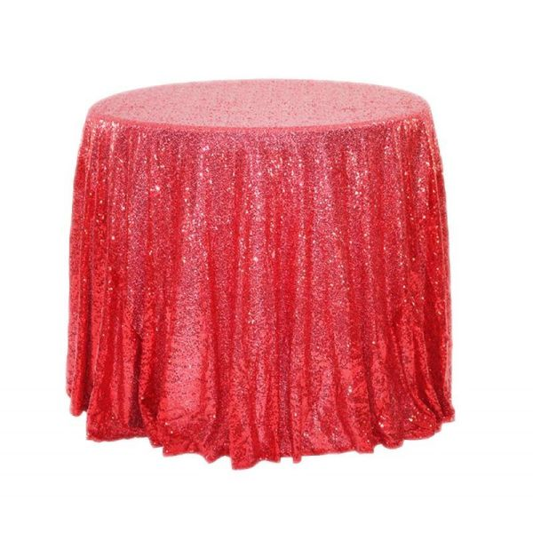 "24"" Sequins Round Table Cloth"