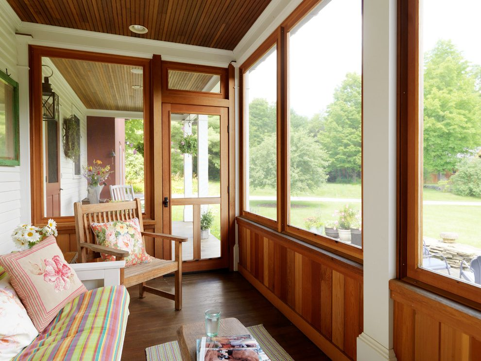 New summer project: an enclosed porch. | Lucky Otters Haven on Inclosed Patio Ideas  id=15397
