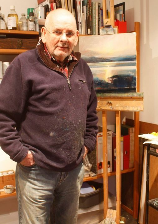 Jim Macaulay in Studio