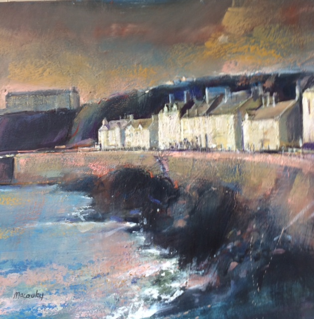 Portpatrick Oil on Canvas 61cm x 56cm