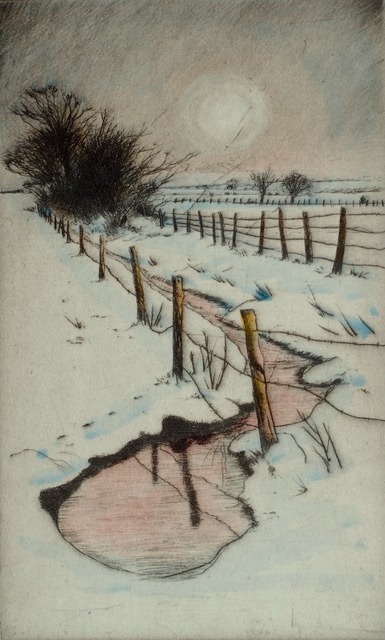 Lane and Loch - Dry Point