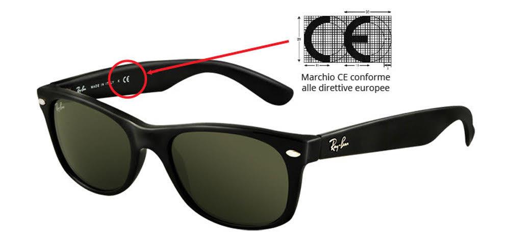 migliori occhiali da sole marchio CE