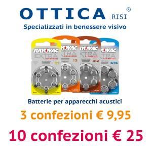 Batterie audioprotesi