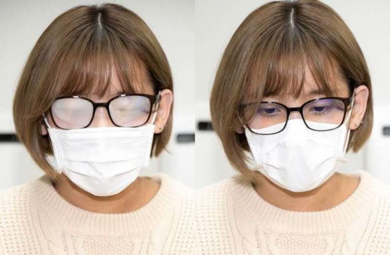 occhiali da vista con antiappannamento
