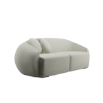 Peggy Curved Sofa By Ottiu Beyond Upholstery Mid Century Design