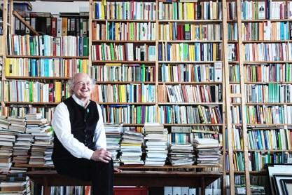 ... in seinem Leipziger Seminarraum