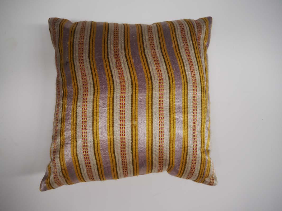 Ottoman Period Hand Loomed Silk Cushion