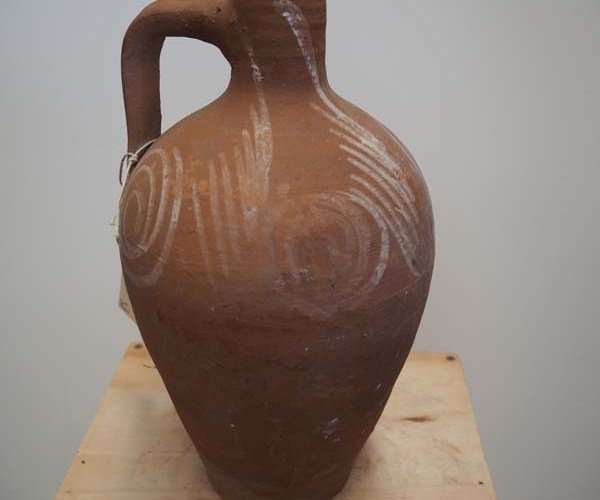 Ottoman period Ionian Terracotta Pot