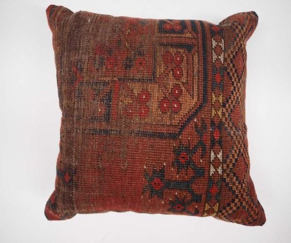 Antique Rug Fragment Cushion
