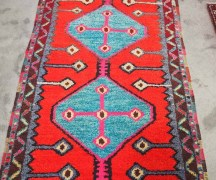 Yahyali Rug. Approximately 30 - 40 years old
