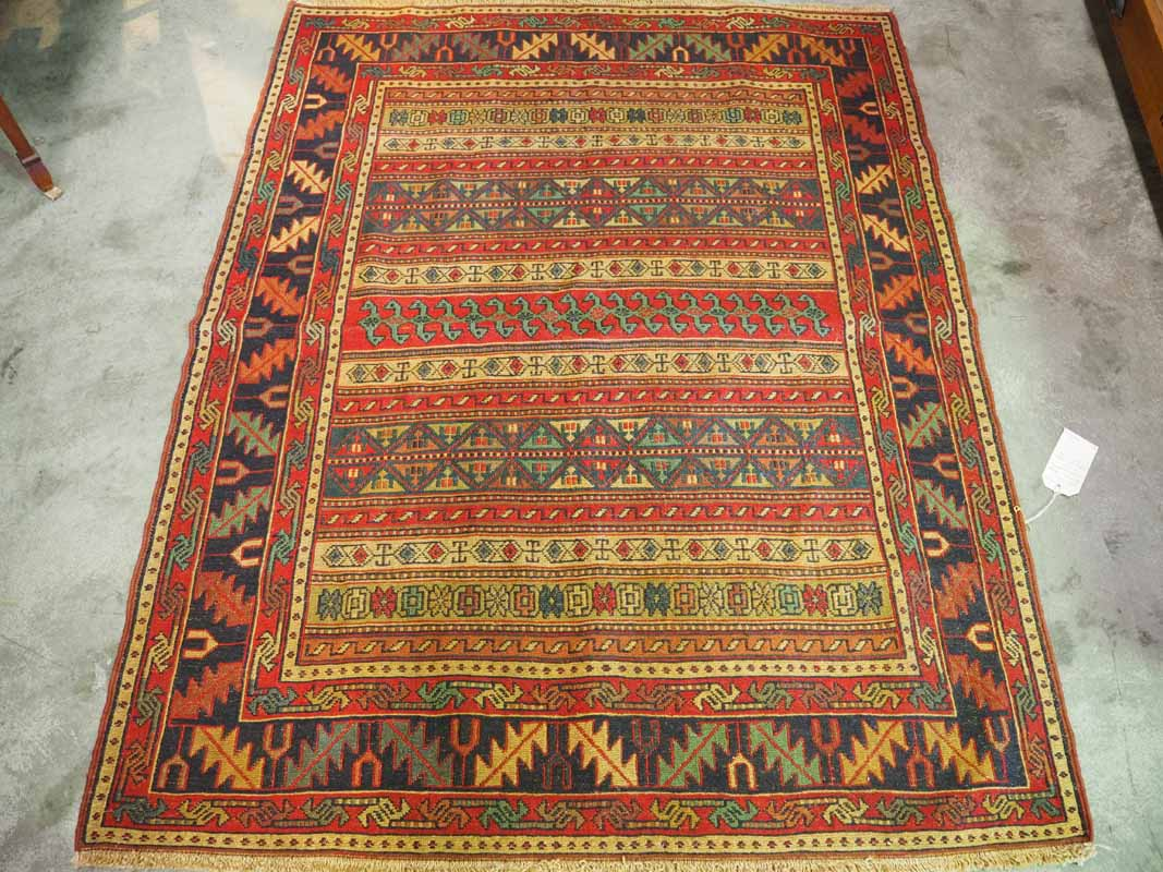 North west Persian ' Rahra' Warp Wrapped Kilim Wool on wool