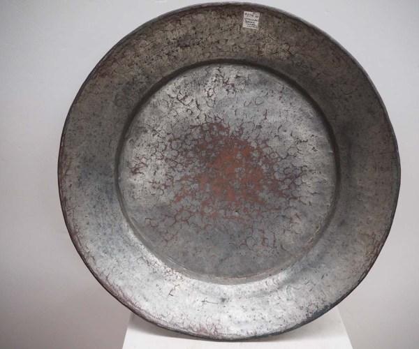 Tinned Copper Ottoman Period Tray