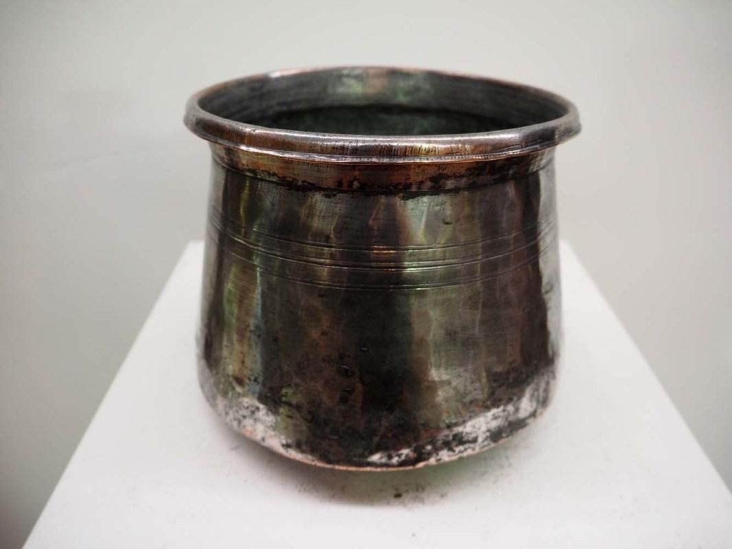 Ottoman Metal Homeware Bowl